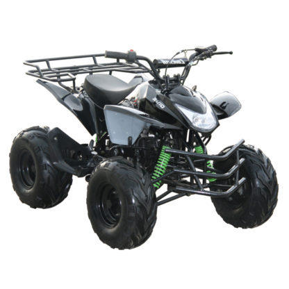 125CC SHARK ATVFULLY ASSEMBLED READY TO RIDECOOLSTER SHARK KIDS ATVS  INCLUDE :REMOTE KILL :SPEED GOVERNOR :ELECTRIC START