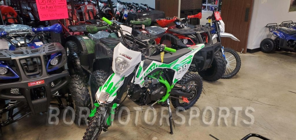 125CC green DIRT BIKE PIT BIKE XMOTO APOLLO 1
