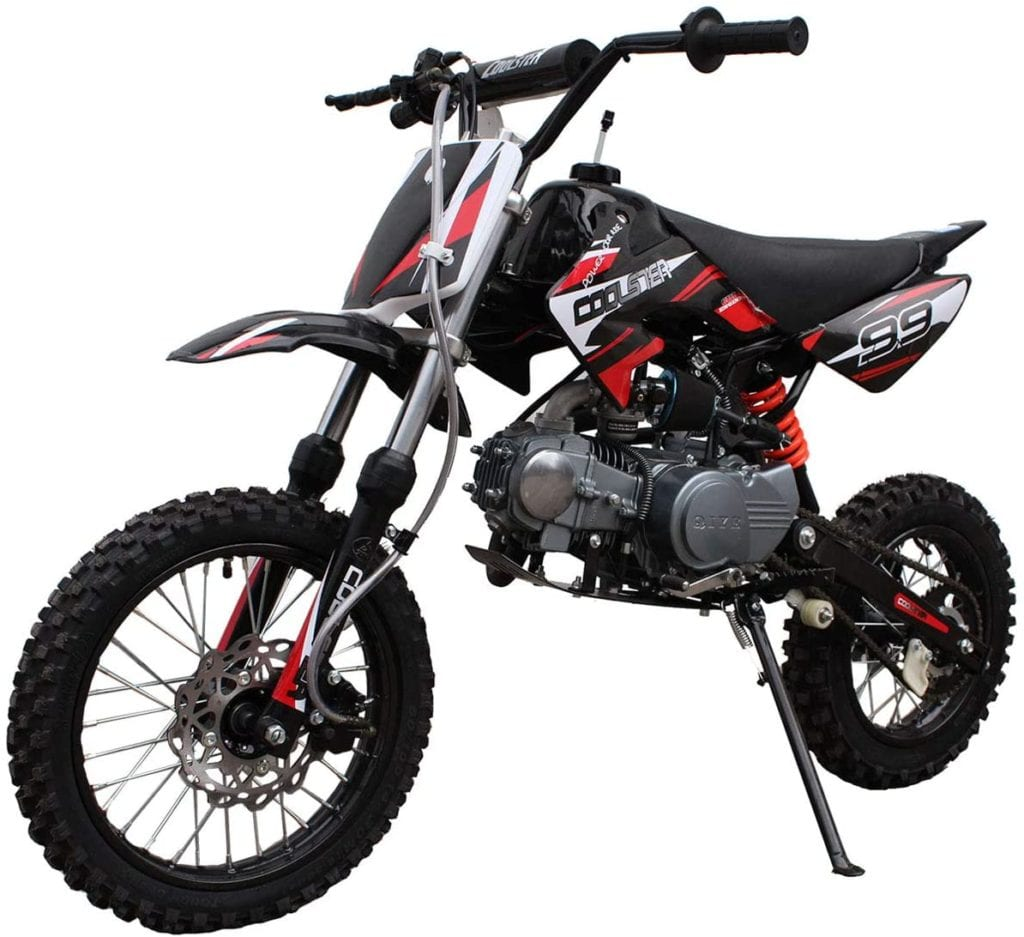 125cc dirt bike black dirt bikes