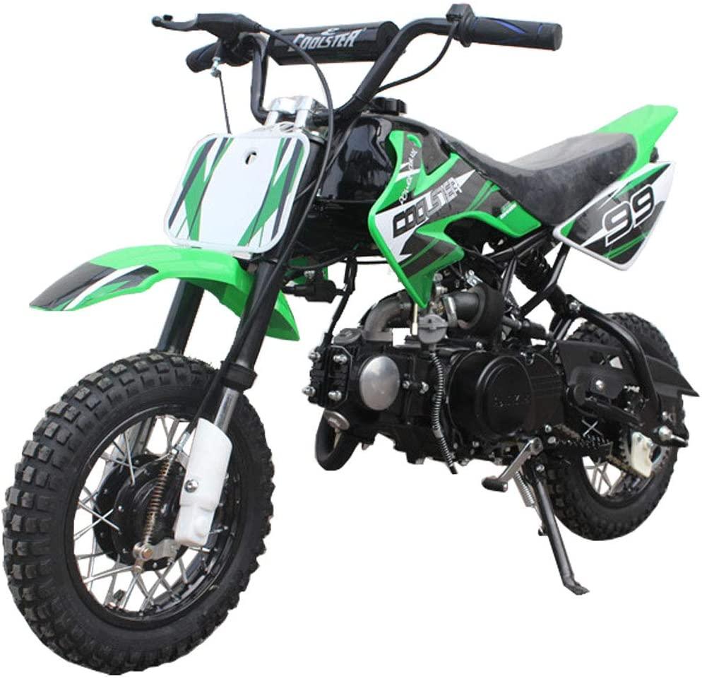 70cc dirt bike green dirt bikes